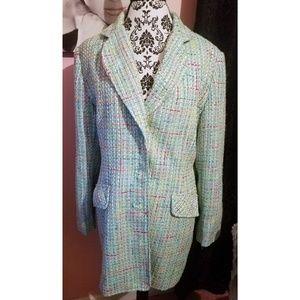Vintage tweed gorgeous blazer/jacket
